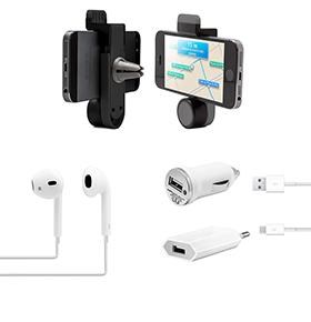 Pack Essencial para Smartphone | Branco