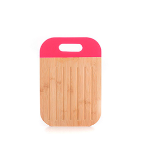 Tábua de Cortar em Bambu c/ Punho |Rosa