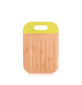 Tábua de Cortar em Bambu c/ Punho | Verde Lima