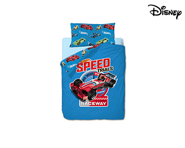 Capa de Edredão Hot Wheels Race | 160X220