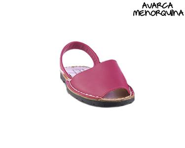 Sandálias Menorquinas para Criança | Fuschia