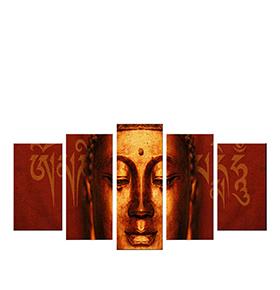 Quadro Políptico de Lona Buda | 100 X 60