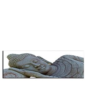 Quadro de Lona Buda | 120 X 40