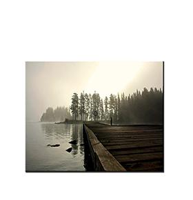 Quadro de Lona Neblina | 80 X 60
