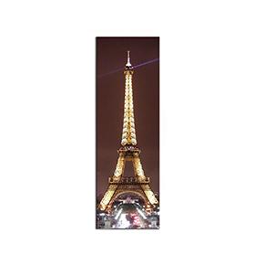 Quadro de Lona Torre Eiffel | 120 X 40
