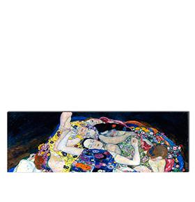 Quadro de Lona Gustav Klimt | 120 X 40