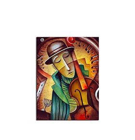 Quadro de Madeira Picasso | 70 X 50