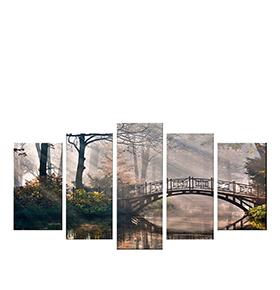 Quadro Políptico de Lona Ponte | 100 X 60