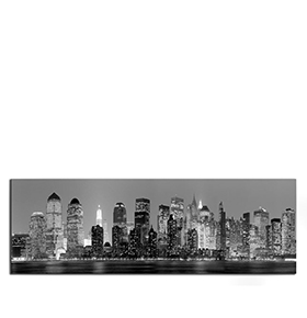 Quadro de Lona New York City | 120 X 40