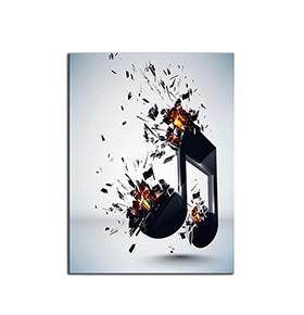 Quadro de Lona Música | 80 X 60