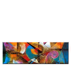 Quadro de Lona Multicolor | 120 X 40