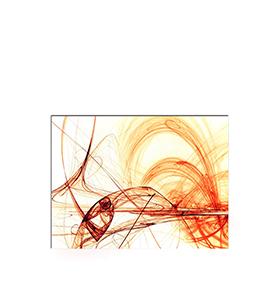 Quadro de Lona Riscos Neutros | 80 X 60