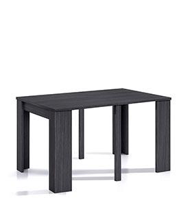 Mesa de Jantar Extensível | Cinza Texturado