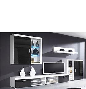 Sala Gama Preta | Estilo em sua Casa
