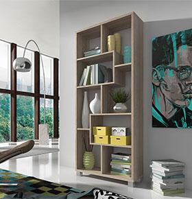Estante Deluxe Vertical Carvalho Claro | Design Moderno e Funcional