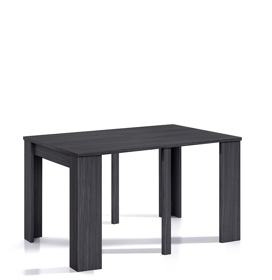 Mesa de Jantar Extensível   Cinza Texturado