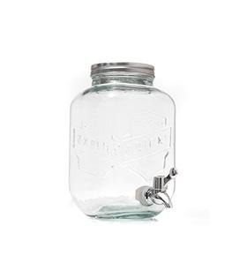 Dispensador de Bebidas em Vidro Vintage