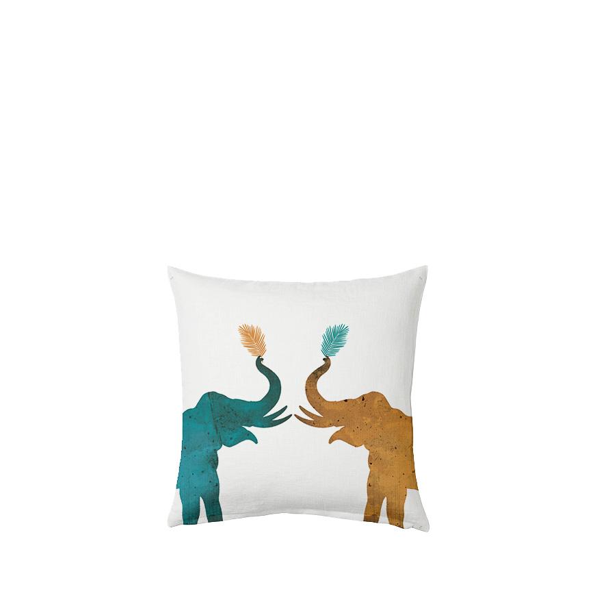 Capa de Almofada Elephant Nomads®   60x60 cm