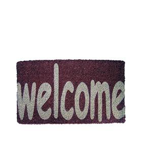 """Tapete de Entrada """"Welcome"""""""