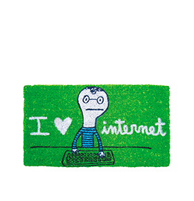 "Tapete ""I Love Internet"""