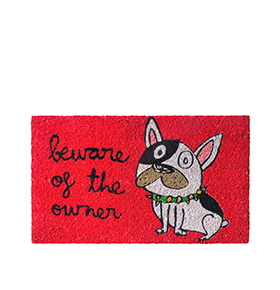 "Tapete de Entrada ""Beware Of The Owner"""