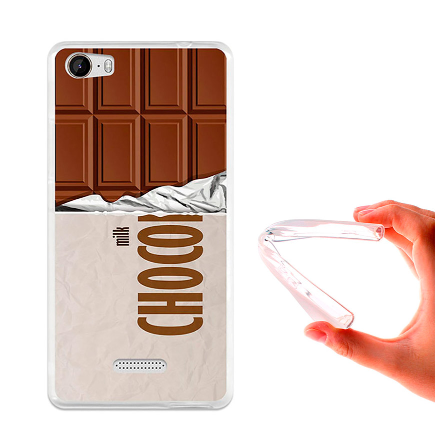 Capa de Gel BeCool® Wiko Fever | Tablete de Chocolate