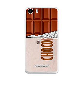 Capa de Gel BeCool® Wiko Lenny 2 | Tablete de Chocolate