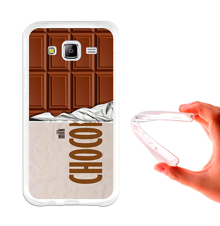 Capa de Gel BeCool® Samsung Galaxy J5 | Tablete de Chocolate