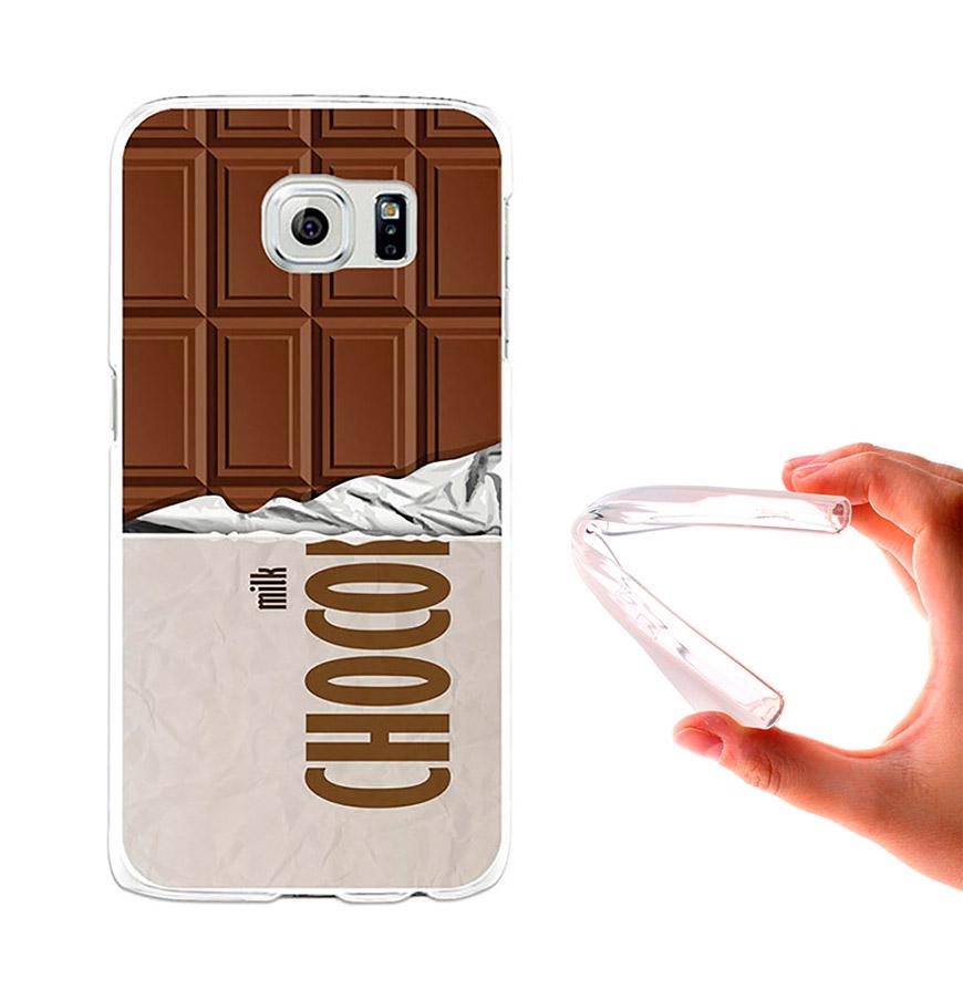 Capa de Gel BeCool® Samsung Galaxy S6   Tablete de Chocolate
