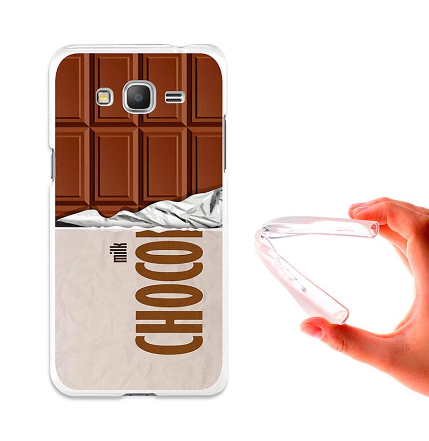 Capa de Gel BeCool® Samsung Galaxy Grand Prime | Tablete de Chocolate