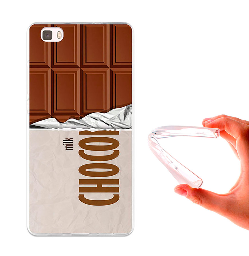 Capa de Gel BeCool® Huawei P8 Lite | Tablete de Chocolate