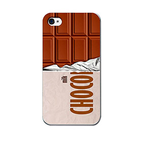Capa de Gel BeCool® iPhone 4 iPhone 4S | Tablete de Chocolate