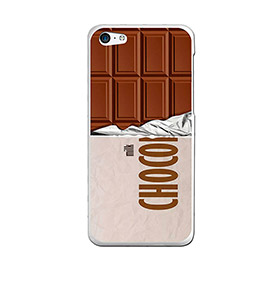 Capa de Gel BeCool® iPhone SE iPhone 5 5S | Tablete de Chocolate