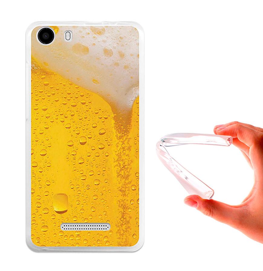 Capa de Gel BeCool® Wiko Lenny 2 | Cerveja Loira