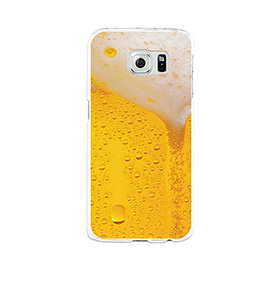 Capa de Gel BeCool® Samsung Galaxy S6 | Cerveja Loira
