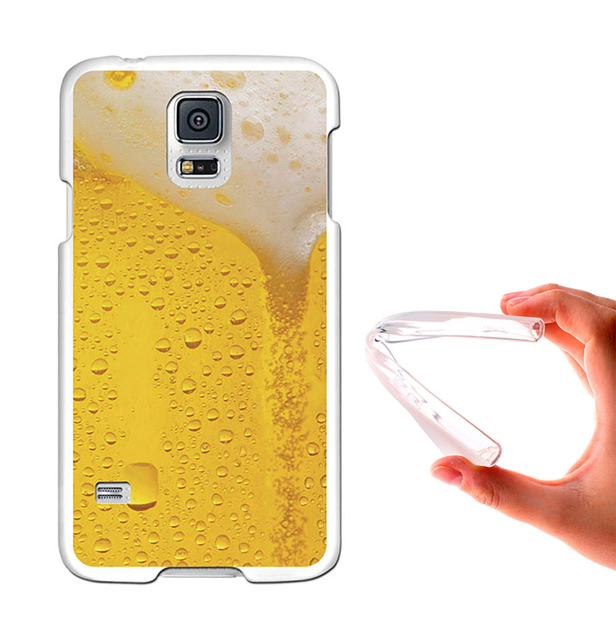 Capa de Gel BeCool® Samsung Galaxy S5   Cerveja Loira