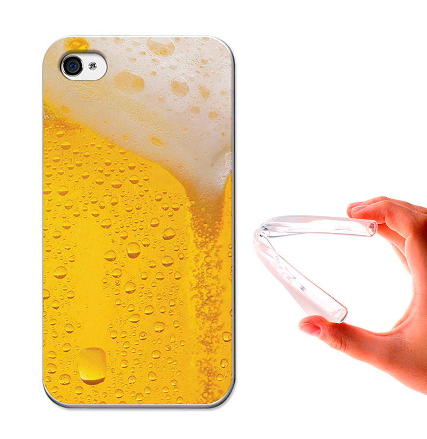 Capa de Gel BeCool® iPhone 4 iPhone 4S | Cerveja Loira