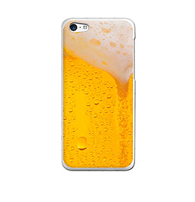 Capa de Gel BeCool® iPhone SE iPhone 5 5S | Cerveja Loira