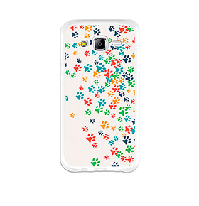 Capa de Gel BeCool® Samsung Galaxy J5 | Patinhas de Cão