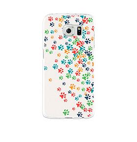 Capa de Gel BeCool® Samsung Galaxy S6 | Patinhas de Cão