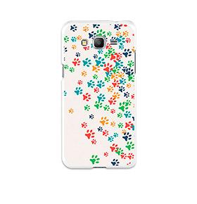 Capa de Gel BeCool® Samsung Galaxy Grand Prime | Patinhas de Cão