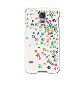 Capa de Gel BeCool® Samsung Galaxy S5 | Patinhas de Cão