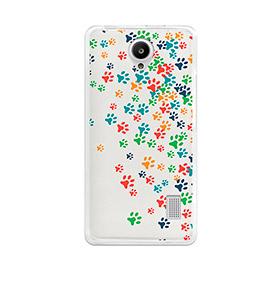 Capa de Gel BeCool® Huawei Ascend Y635 | Patinhas de Cão