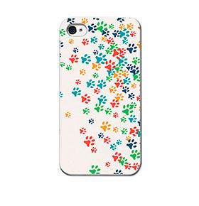 Capa de Gel BeCool® iPhone 4 iPhone 4S | Patinhas de Cão