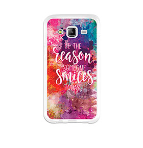 Capa de Gel BeCool® Samsung Galaxy J5   Motivos para Sorrir