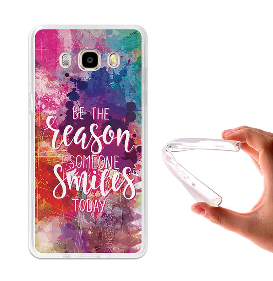 Capa de Gel BeCool® Samsung Galaxy J5 2016   Motivos para Sorrir