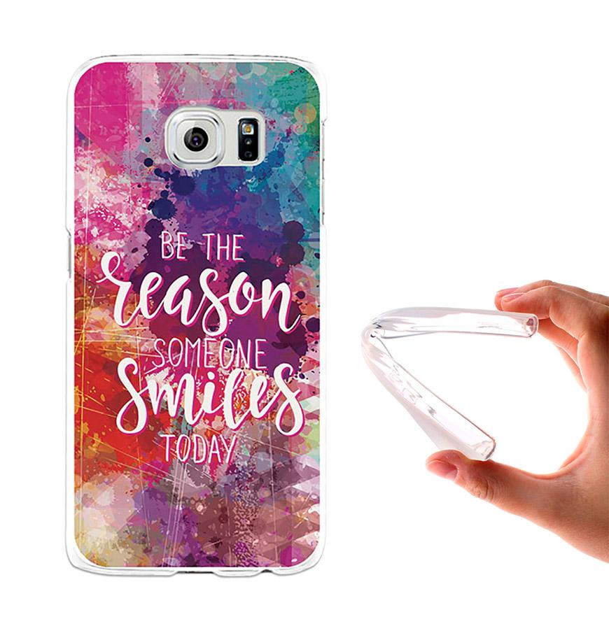 Capa de Gel BeCool® Samsung Galaxy S6 | Motivos para Sorrir
