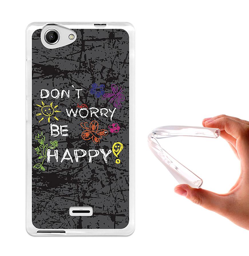 Capa de Gel BeCool® Wiko Pulp - Pulp 4G | Dont Worry, Be Happy!