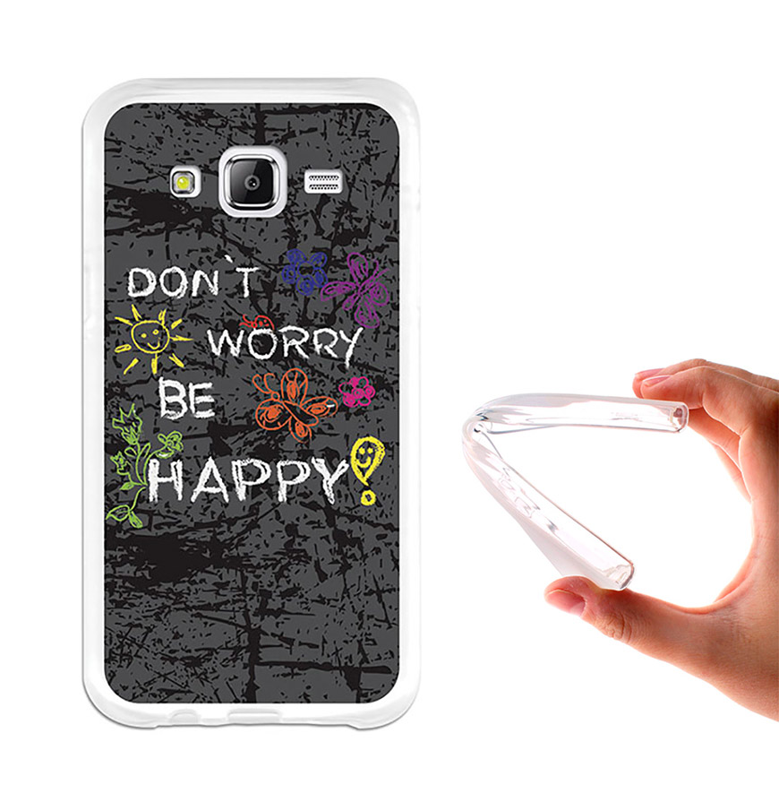 Capa de Gel BeCool® Samsung Galaxy J5 | Dont Worry, Be Happy!