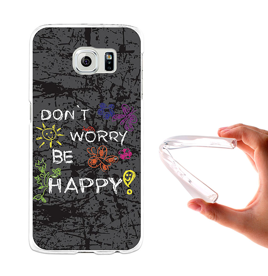 Capa de Gel BeCool® Samsung Galaxy S6 | Dont Worry, Be Happy!